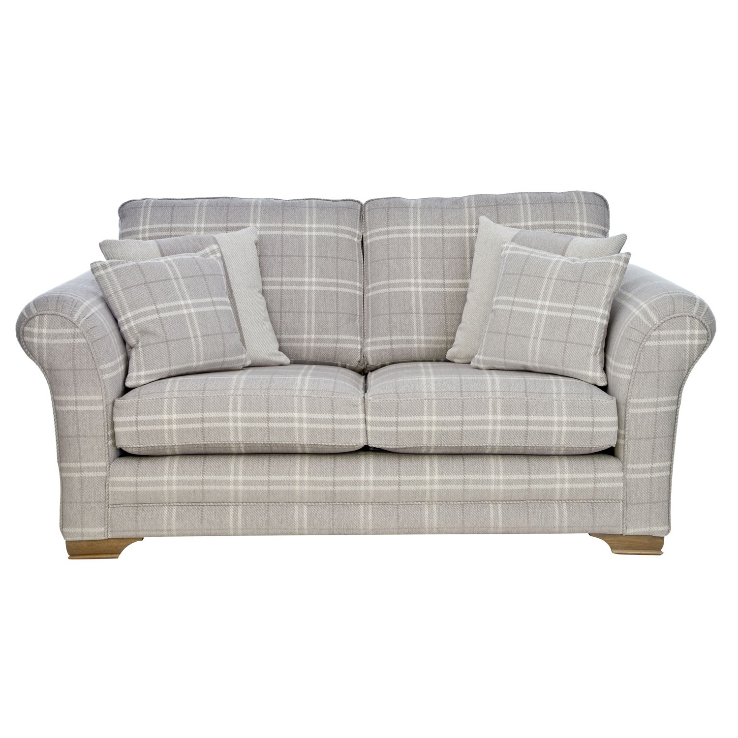 Casa Georgia Two Seater Fabric Sofa Small