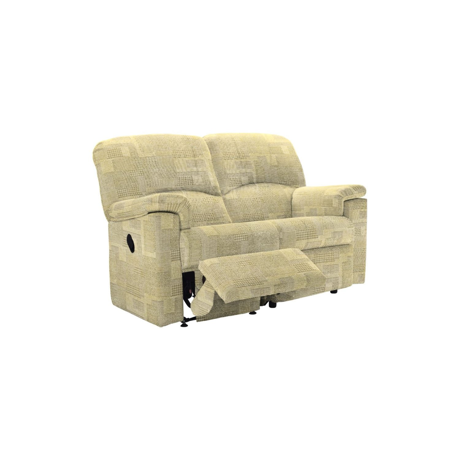 G Plan Chloe Two Seater Left Recliner Sofa - Lydia 2 Seater Sofa