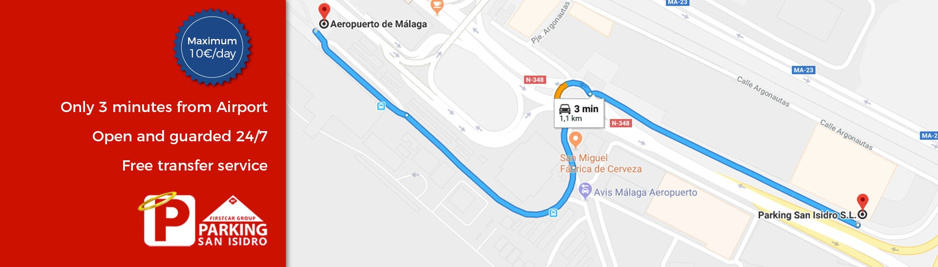 Avis Malaga Parking San Isidro Malaga Airport Parking Service Book Online