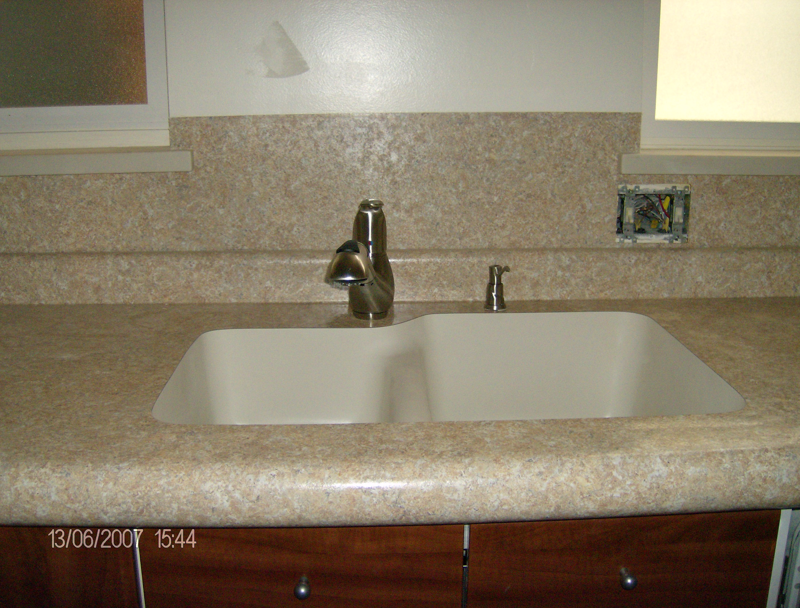 Unfinished Kitchen Cabinets Tampa Corian Countertops And Undermount Sinks Sinks Ideas