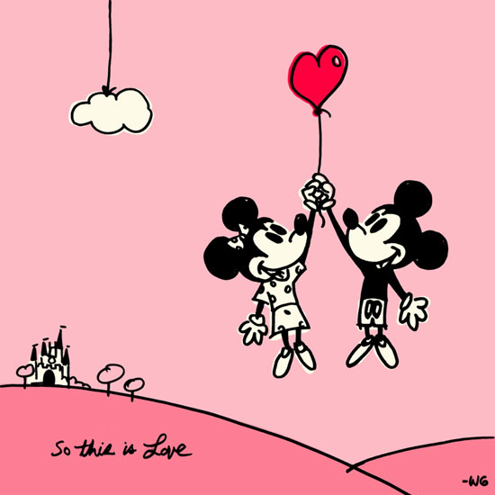 Enemy Wallpaper Quotes Mickey Mouse And Minnie Love Quotes Quotesgram