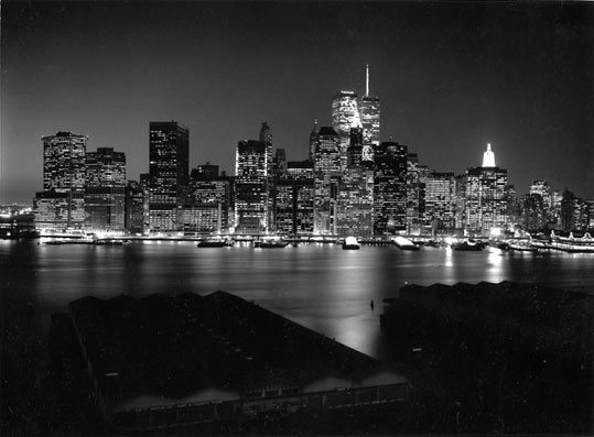 George Forss, black and white silver gelatin print, 1995
