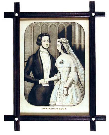 Kellogg and Comstock  The Wedding Day