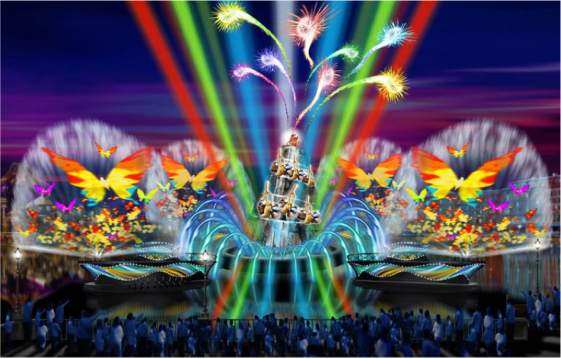 Neon Car Theme Wallpaper Fantasmic For Tokyo Disneysea In 2011 Park Thoughts