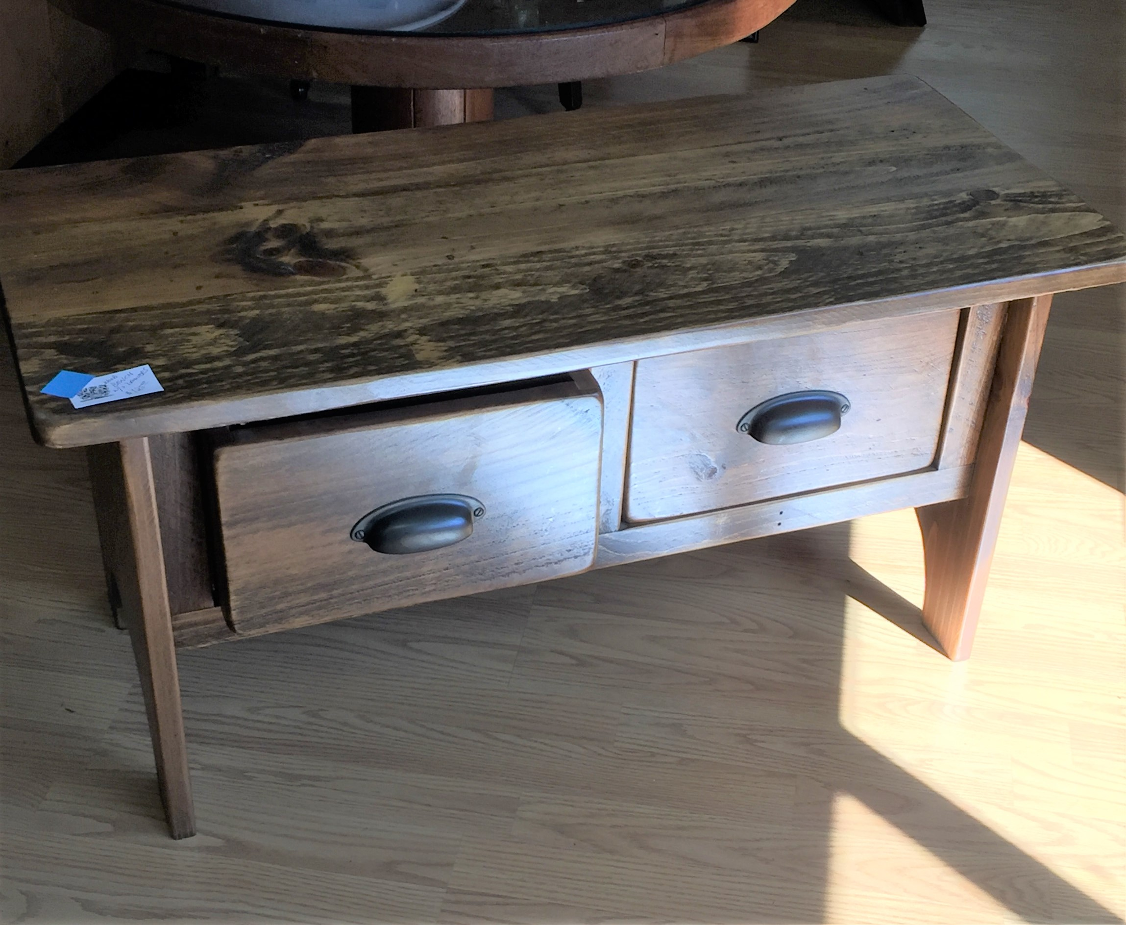 Wooden Bench Table Wooden Bench Table Tv Stand With Two Drawers Parkway Drive