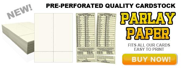 Printable Custom Parlay Cards - Parlay Cards Now