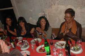 Beverly Bond, Janell Snowden, June Ambrose & Harriett Cole