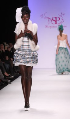 German fashion week:  Suzana Peric