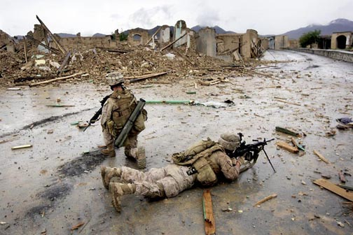 U.S. Marines Continue Counterinsurgency Operations In Helmand