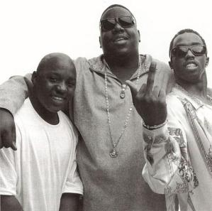 Lil Cease, Notorious B.I.G., Diddy ham it up