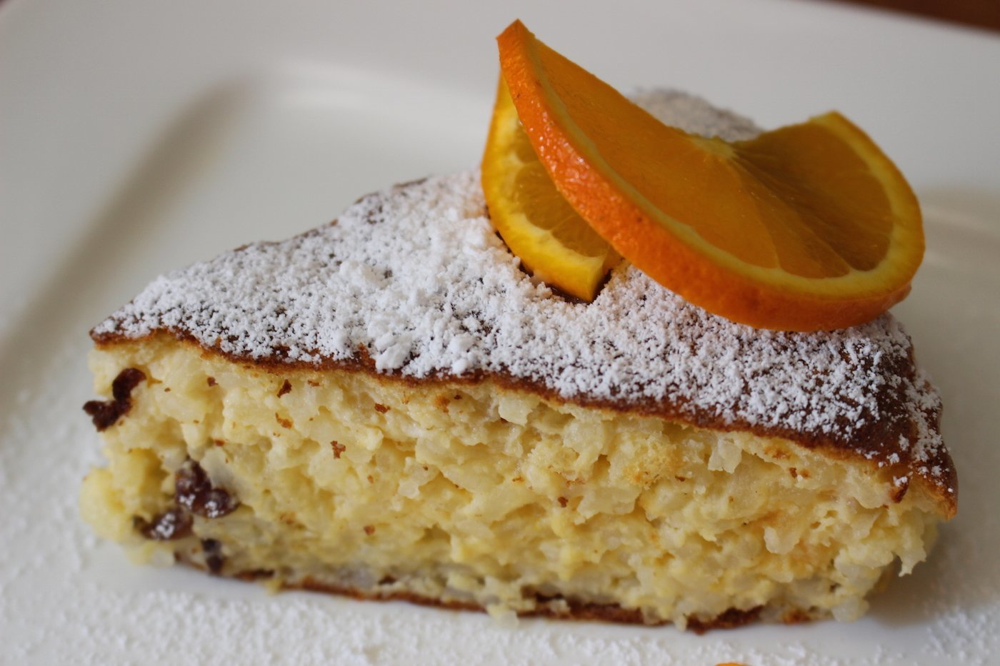 Italienisch Kuchen Orangen Reis Kuchen Orange Rice Cake Aus Two Greedy Italians