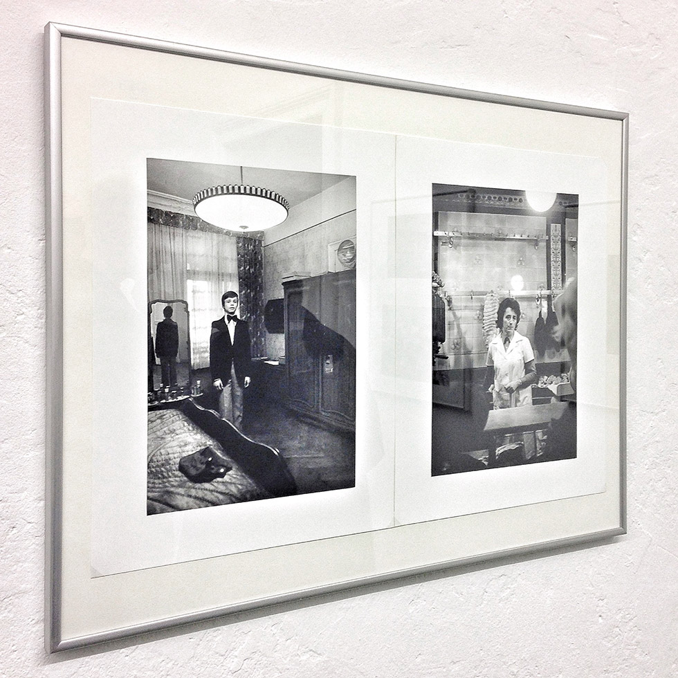 «Berlin» is the title of the exhibition by photographer Helga Paris at the exhibition space «Between Bridges» run by Wolfgang Tillmans.