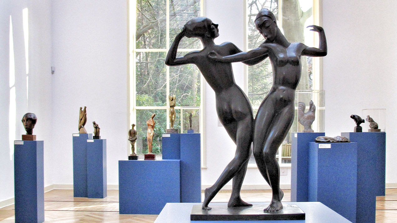 Georg Kolbe Museum in Berlin presents the exhibition «Die 1. Generation – Bildhauerinnen der Berliner Moderne» («The First Generation – Women Sculptors of Berlin Modernism»). | Photo: Norbert Bayer