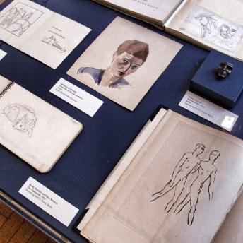 Sketches by Renée Sintentis | Photo: Norbert Bayer