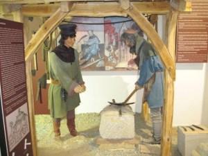 Exhibit in Chrales Bridge Museum