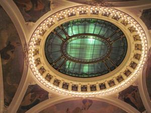 ceiling decoration in Smetana Hall
