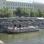 river boat dining on the Vltava, Prague