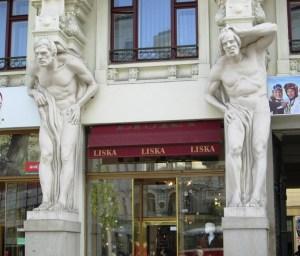 Brno pillars