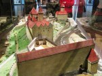 model of castle at Cesky Krumlov