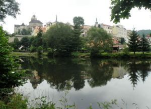 Ohre River walk around Loket