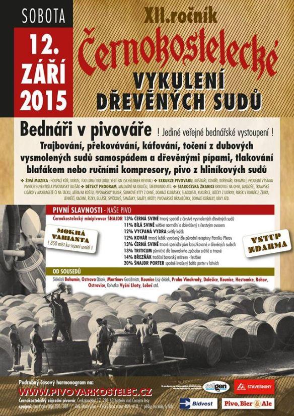 Cernokosteleckie beer festival