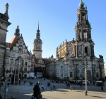 Castle Square, Dresden with Cathedral