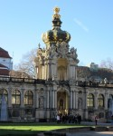 Crown gate orangery Zwinger Dresden