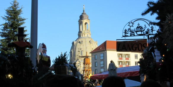Frauen Church and Christmas market