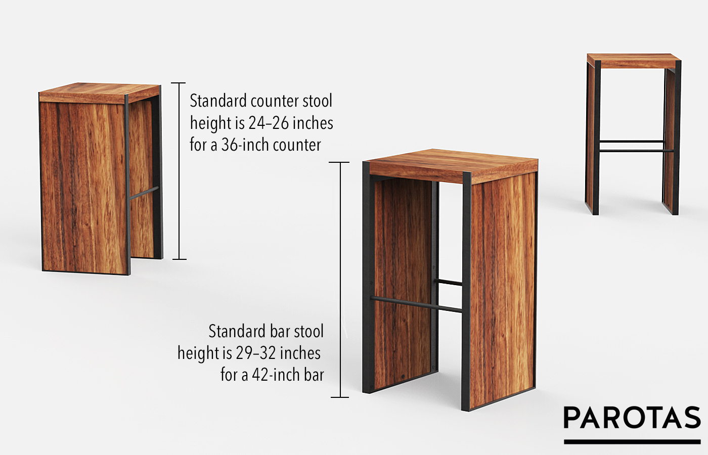 Bar Stool Height Choosing The Perfect Bar Or Counter Stool Height For Your Design