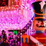 Dirígete tras bastidores y entérate sobre la asombrosa logística que implica realizar la transformación invernal de Walt Disney World Resort cada año.