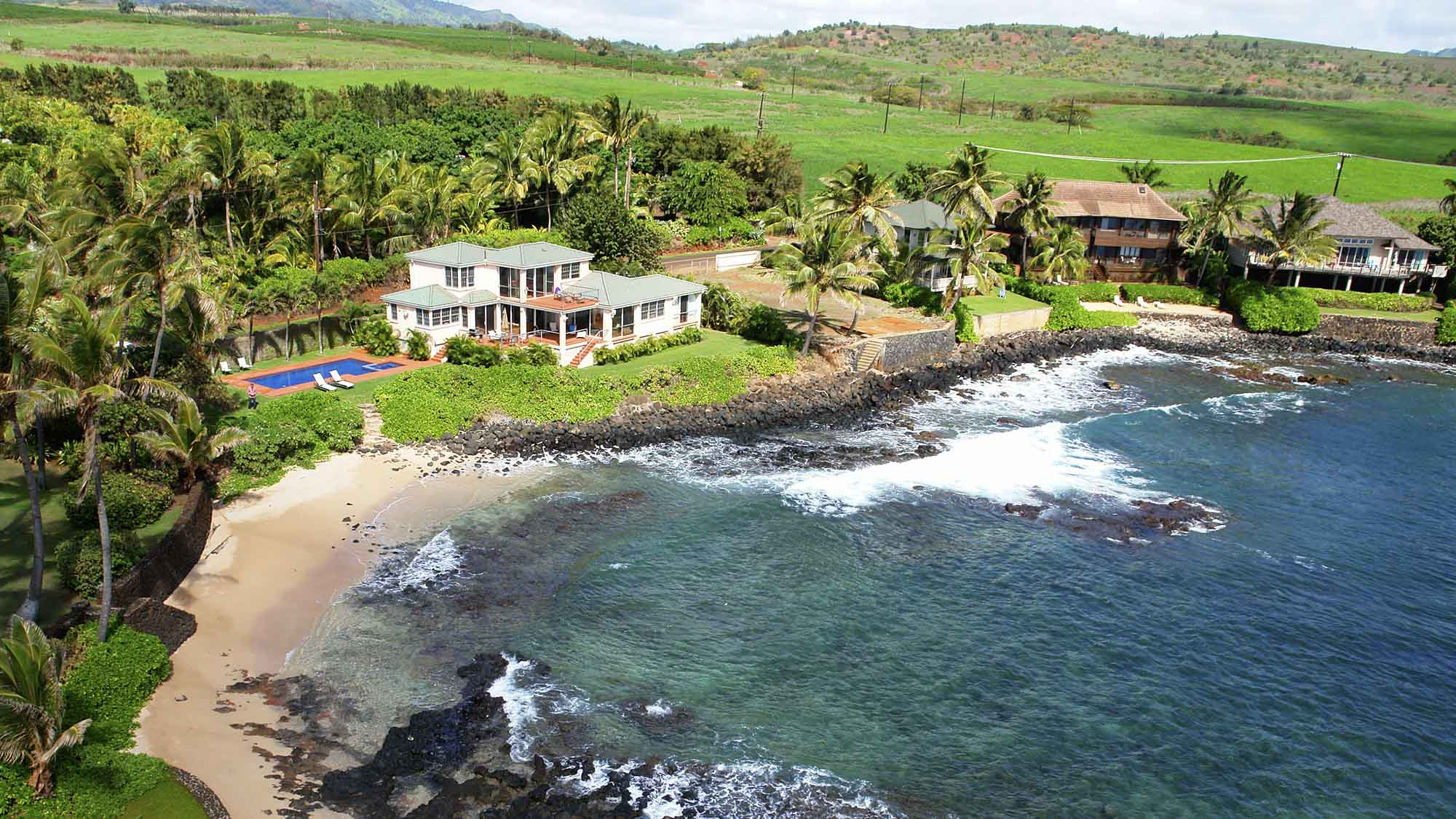 Sandy Beach House Kauai Vacation Rentals