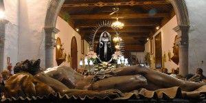 Cristo Yacente y Virgen de Dolores