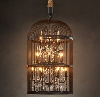 BIrd Cage Chandeliers | Parrot Nation