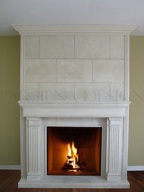 Big Island Kitchen Design Fireplace Mantels Toronto | Custom Mantels Mississauga