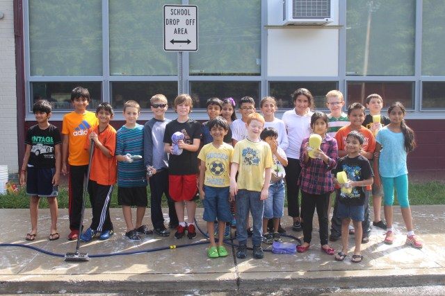 Fifth Grade Students At Littleton School Holds Car Wash Parsippany Focus