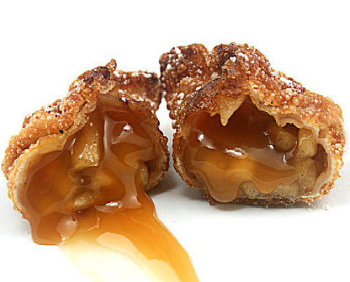 5-Spice Caramel Apple Cinnamon Sugar Dumplings aka 'Churro' Apple Dumplings)