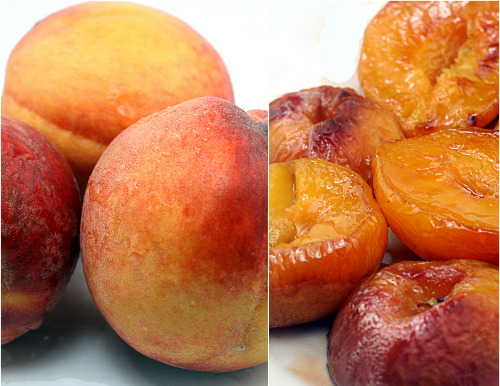 Buttery Roasted Brown Sugar Peaches