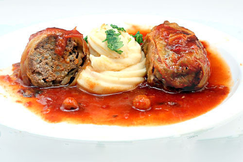 Old-Fashioned Stuffed Cabbage
