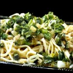 Ginger Garlic Scallion Noodles <del>and the Winner of the Le Creuset Oval Baker!</del>