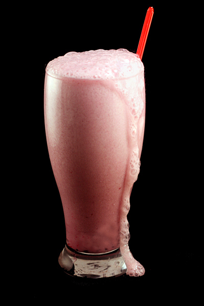 Raspberry Syrup Egg Cream