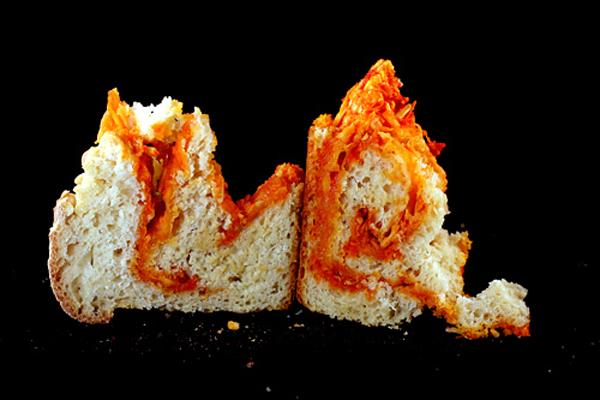 Sriracha Cheddar - Pepper Jack Swirl Bread