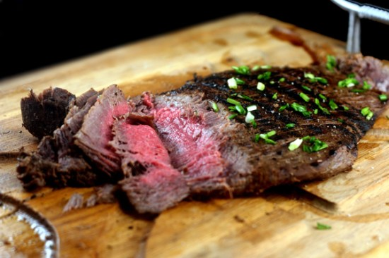 Spicy Asian Grilled Flank Steak