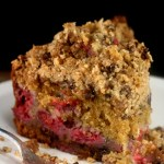 Streusel Overkill is Good – Brown Butter Chocolate Chip Streusel Crumb Cake with or without Raspberries