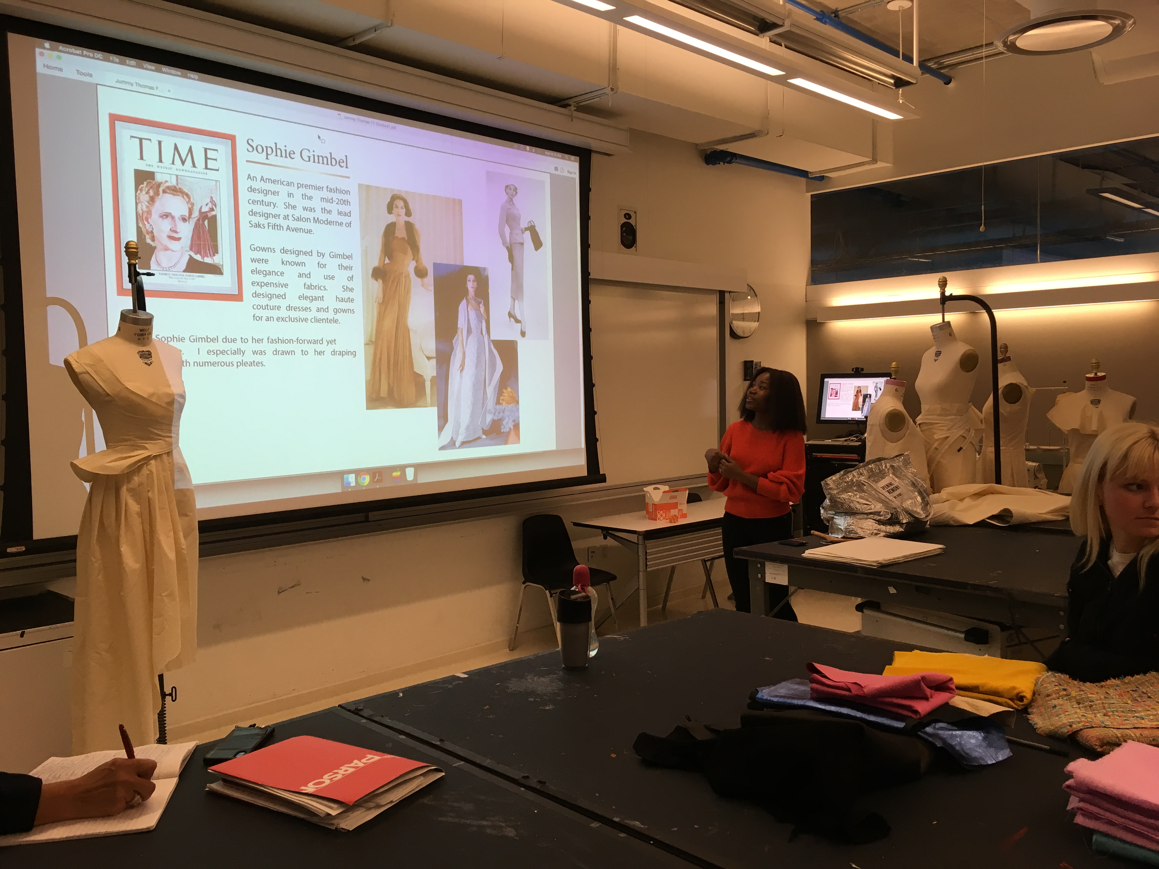 Model Salon Moderne Aas Fashion Design Inside Look At Our Couture Studio Class Aas