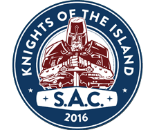 Charity Rallye - Knights of the Island 2016 Logo