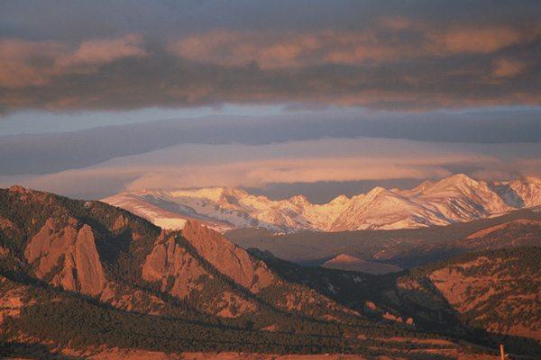 Flatiron Sunrise, Boulder, CO