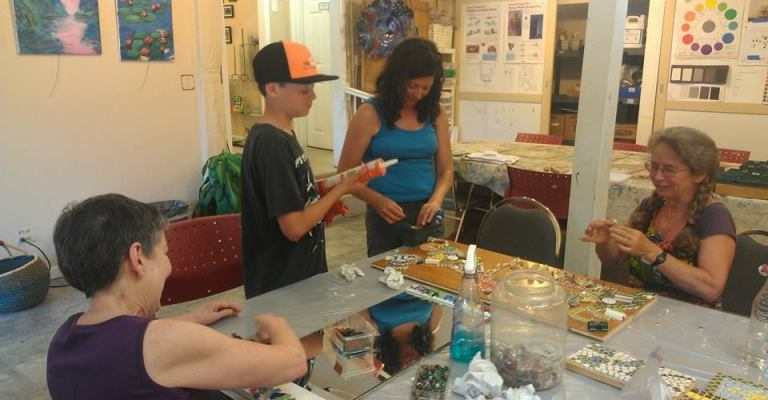mosaic workshop 1