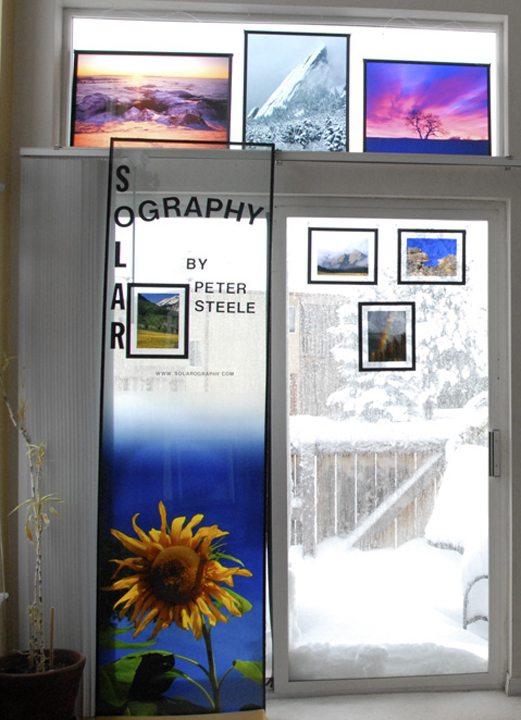 Solarography Sample  Display