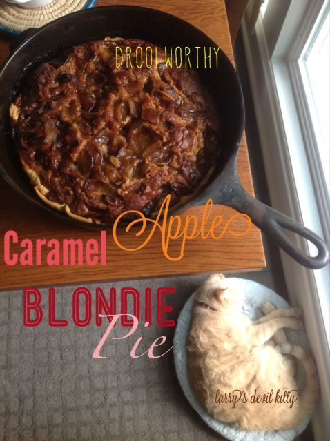 Caramel Apple Blondie Pue