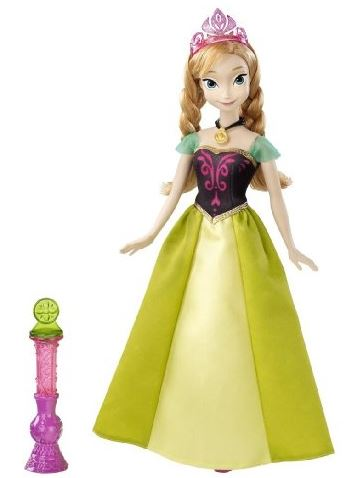 Disney Frozen Color Change Anna Fashion Doll